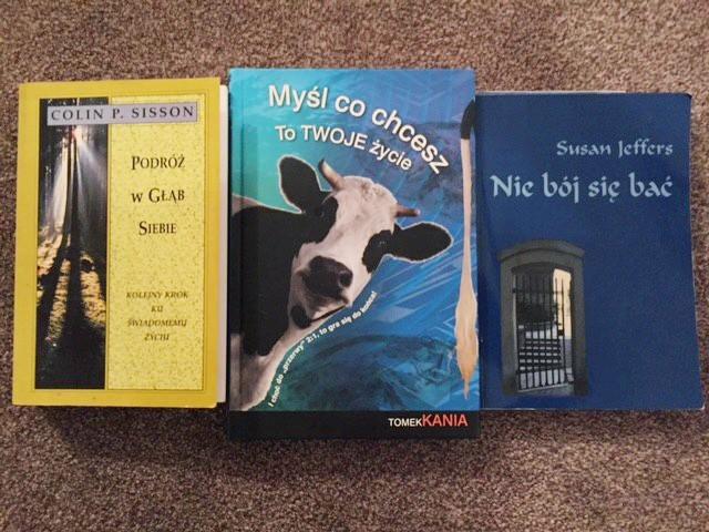 Książki Colin Sisson, Tomek Kania, Susan Jeffers